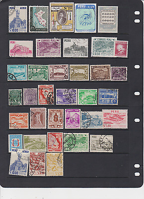 Peru Older 155 All Different Mostly Used