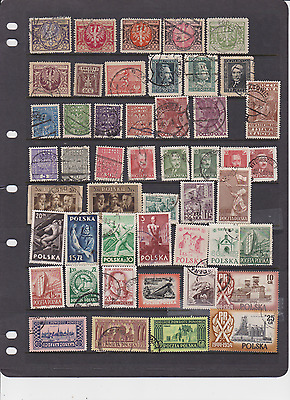 Poland Old 100 All Different Used