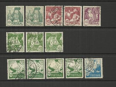 Portugal ~ 1941 Costume Definitives (Part Set) Used