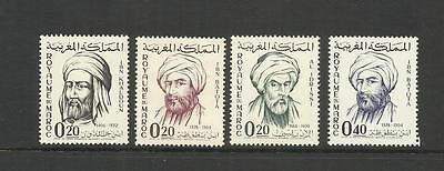 Morocco ~ 1963 Famous Men Of Maghreb  (Mint Set)