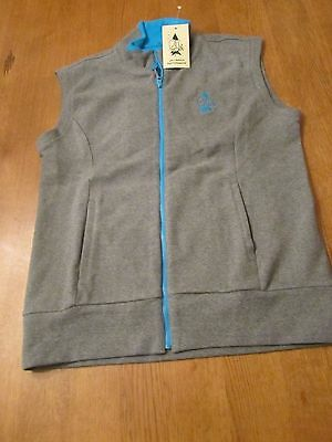 Womens Carnoustie Full Zip Golf Vest, NWT, XS