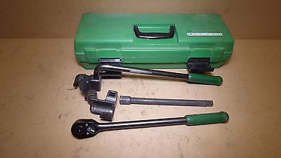 Greenlee 796 Wire Bender Cable Bender Ratchet