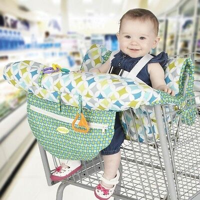 New Nuby Shopping Cart & High Chair Cover Triangles Free Express Shipping
