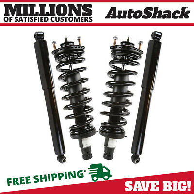 Set Of Shock Absorbers and Complete Struts fits Buick Chevy GMC Isuzu Oldsmobile