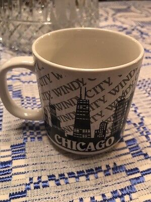 Chicago Windy City Ceramic Coffee Mug