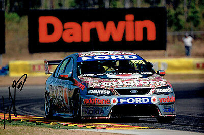 CRAIG LOWNDES Red Dust Original SIGNED action PHOTO 12 x 8