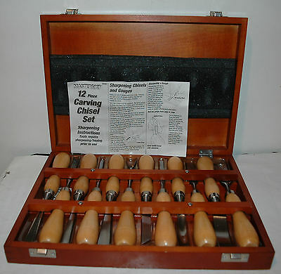 MasterGrip 12-piece Chisel Carving Set  (EX+ to NM)