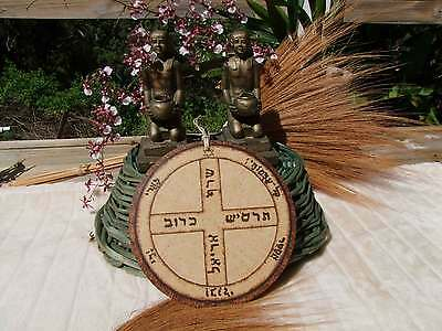 Jupiter Talisman for Protection LARGE Handmade - Witches Hotline
