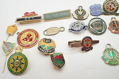 Assorted Collection Of Enamel Badges Job Lot 24