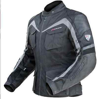 DRIRIDER NORDIC AIRFLOW MOTORCYCLE JACKET VENTED NEW 6XL Leather Dry Rider