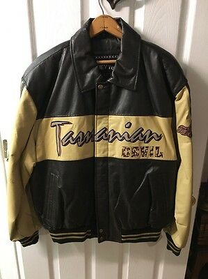 Looney Tunes Leather Jacket Tasmanian Devil (L)
