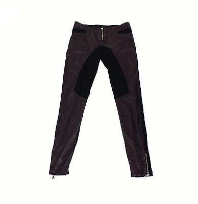 Silva NEW Purple Womens Size Small S Faux Leather Stretch Pants $29 - 991