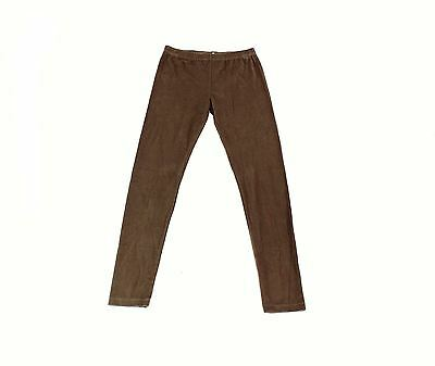 Angie NEW Brown Womens Size Small S Pull On Stretch Elastic Waist Pants $39- 115