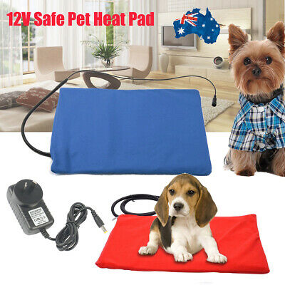2019 Pet Electric Heat Heated Heating Heater Pad Mat Blanket Dog Cat Bunny Bed