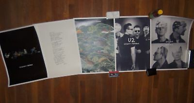 5 Big U2 Joshua Tree POSTERS 2017 FAN CLUB Limited Edition Litographs Bono Edge