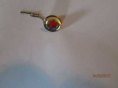 Mobil Flying Red Horse 125 Tie Pin