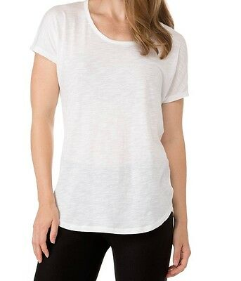 Michael Kors NEW White Womens Size Small S Scoop Neck Tee T-Shirt $54 054