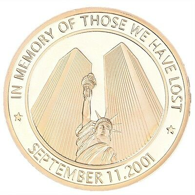 """In Memory of Those We Have Lost"" Commemorative Coin 9/11-01 World Trade Center"