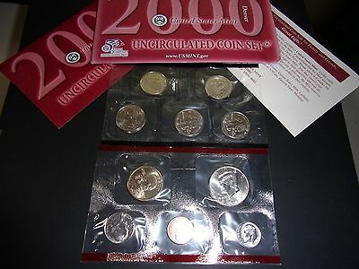 The United States Mint - 2000 Uncirculated / Denver Coin Set.