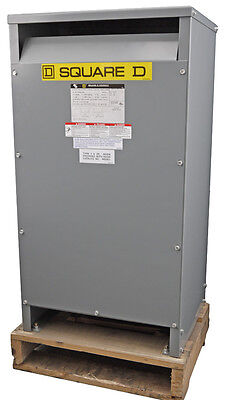 NEW Square-D 25kVA 120/240VAC Electrical General Purpose Transformer EE25S1258H