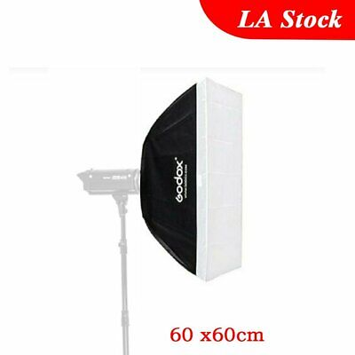 Godox 60x60cm Softbox Bowens Mount for Studio Strobe Bulb Flash Light SK300