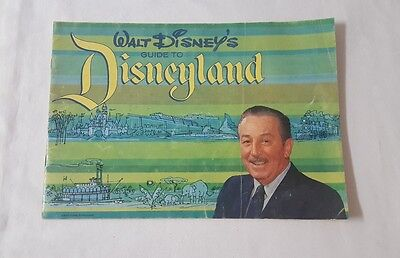 "Rare Vintage ""Walt Disney's Guide to Disneyland"" from 1964"