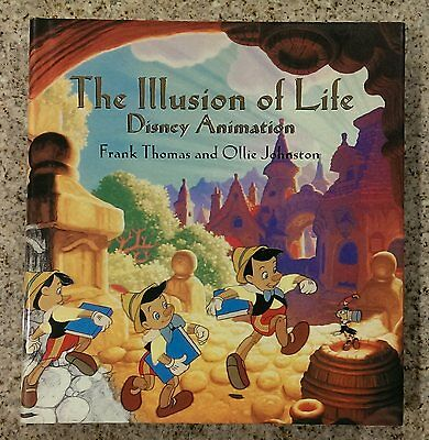 NEW The Illusion of Life: Disney Animation by Thomas and Johnston Hardcover