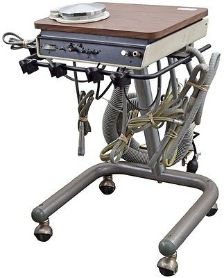 Adec Micro-Cart 2521 Dental Delivery System Portable Instrument Holder #2