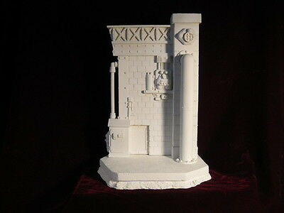 """NEW BASE, """"THE FACTORY"""" resin kit 1/6. design, and sculpture, by JL CRINON"""