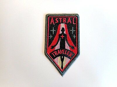 1x Astral Travel Hippie Patches Embroidered Cloth Applique Badge Iron Sew On