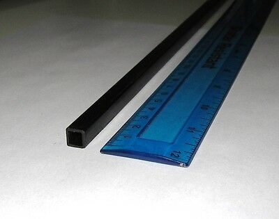 1x Carbon Fibre Square Inside Tube 8mm x 8mm x 1000mm (SQ8-1000) : £7.75