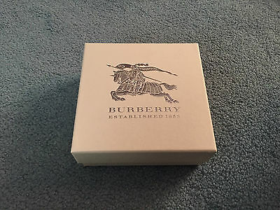 Burberry Gift Present Belt or Wallet Box