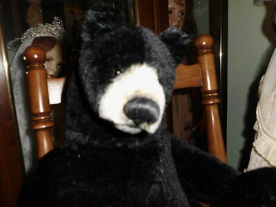 "Kuro Ooak By Bears Upon Soar  16"" Mohair Mint Tag Included"