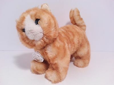 Vintage Gund 1988 Collectors Classic Tabby Cat Plush Toy Doll - Fast Shipping