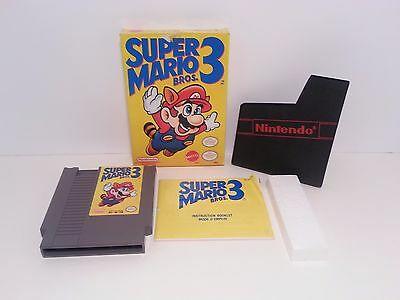 Super Mario Bros. 3 (Nintendo Entertainment System, 1990) NES Near Complete