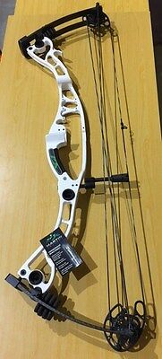 "Martin Hawk VE Compound Bow 60# White 26-28"" with Bow Kit"