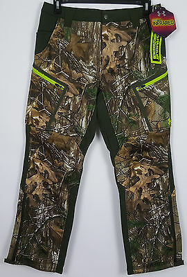 Under Armour Cgi Sc Speed Freek Hunting Pants Realtree Camo $180 1250543 Size 32