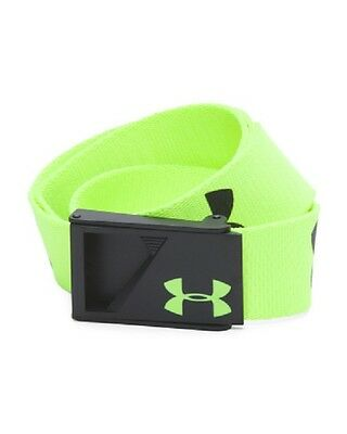 NWT Under Armour Boy's UA Range Webbed Adjustable Youth Golf Belt