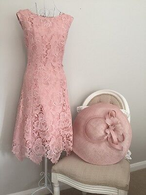 Mother of the bride size 14 Wedding Races Formal Occasion Dress And Hat
