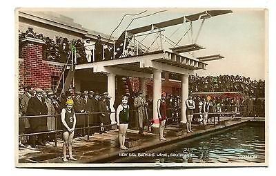 Southport New Sea Bathing Lake Swimming Competition