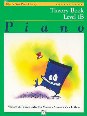 Alfred's Basic Piano Library: Universal Edition Theory Book 1b - By Willard A...