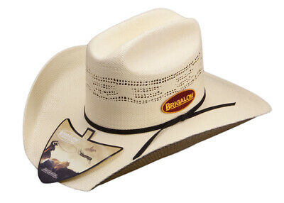New Bronco Off-White Hat-125 Cowboy Cowgirl Hat Brigalow