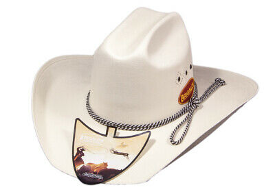 New Triple Diamond White Hat-140 Cowboy Cowgirl Hat Brigalow