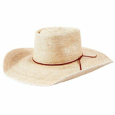 New Palm Leaf - Taped-165 Cowboy Cowgirl Hat Brigalow