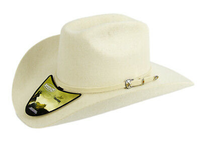 New Beige/Bone Wool Felt Hat -180 Cowboy Cowgirl Hat Brigalow