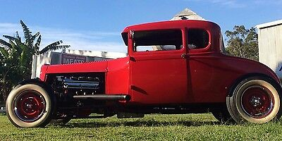 1928 Ford 5 Window Coupe