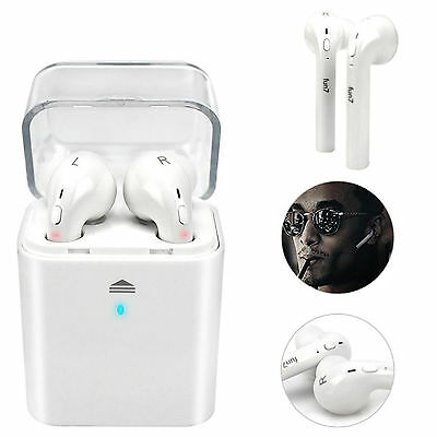 Wireless Bluetooth Headphones Sports In-Ear AirPod Handset For Apple iPhone 7
