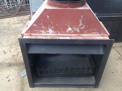 Jetmaster Double Sided Fireplace Flu In Lovely Condition Fire Place Wood Heater
