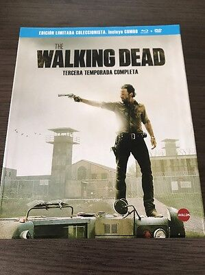 The Walking Dead - Coffret intégral de la Saison 3 - Blu-Ray - DVD