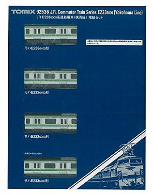 Tommy Tech 6000-based commuter trains TOMIX N gauge (Yokohama Line) (4 cars)
